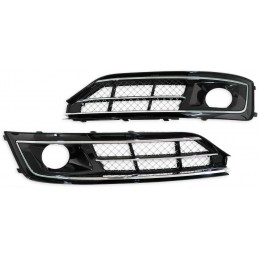 Fog light grilles for Audi A8 2014-2016 look W12