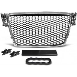 Grille for Audi A4 B8 RS4 look