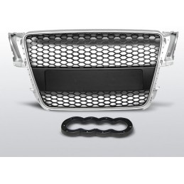 Radiator grille for Audi A5 2007-2012 look RS5 black gray