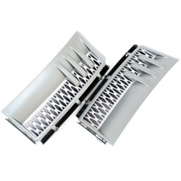Side vents for Range Rover L322 2002-2010 gray