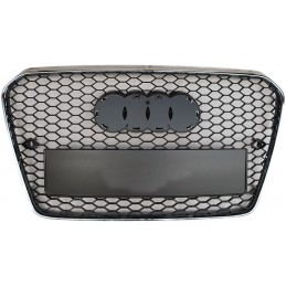 Grille for Audi A5 2012-2016 look RS5 black chrome