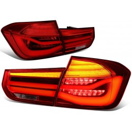 Pair of taillights look...