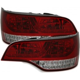 Tail lights for Audi Q7 Red white