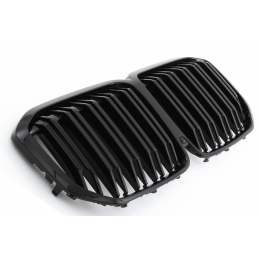 Sport-look grille grille for BMW X1 F48 LCI 2019 - Matte black