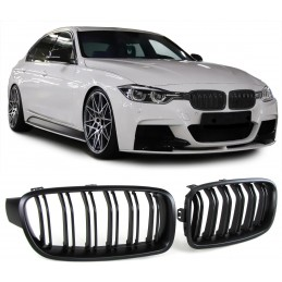Grille for shiny black BMW F30