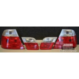 Rear lights BMW E46 99-03 red white Crystal Cup