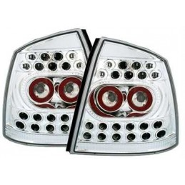 Opel Astra G Chrome led luces traseras