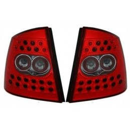 Opel Astra G roja led luces traseras