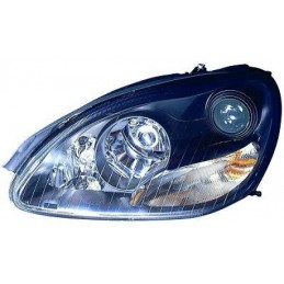 Pair of black headlights XENON the Mercedes class S W220 from 1998 to 2005