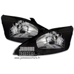 Front headlights Ford Focus black