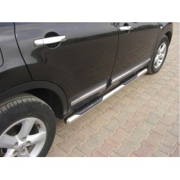 Pair of market for Nissan Qashqai - round foot