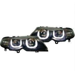 Front lights BMW 3 Series E46 square rings