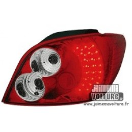 Peugeot 307 rear lights to leds tuning