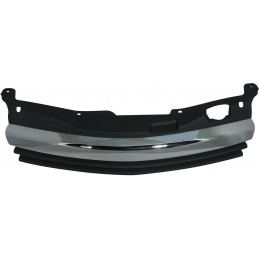 Grille tuning Opel Astra H OPC black chrome