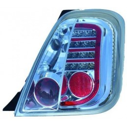 Trasera de luces led tuning Fiat 500