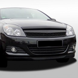 Black tuning grille opel astra H
